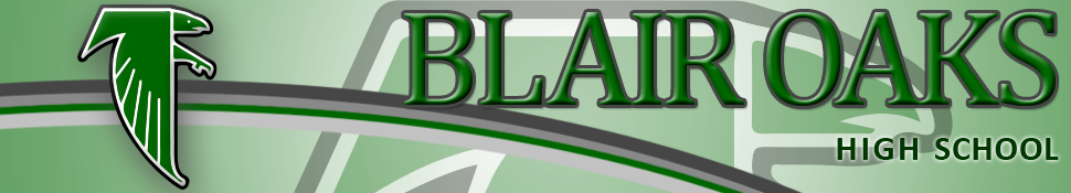 Blair Oaks High School  Logo